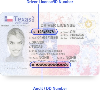 Login driver license renewal and address change texas login enter your driver license sciox Choice Image